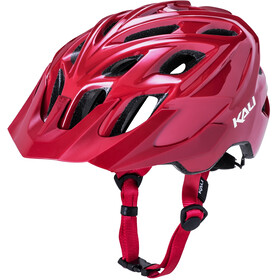 Kali Chakra Solo Kask rowerowy, brick red